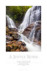 A Joyful Noise print