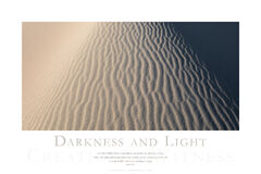 Darkness and Light print
