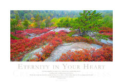 Eternity in Your Heart print