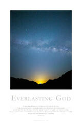 Everlasting God print