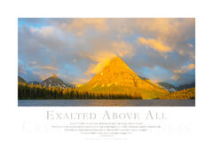 Exalted Above All print
