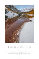Glory in Him print