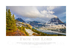 From the Lord print