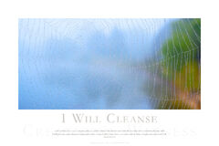 I Will Cleanse print