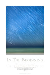 In The Beginning print