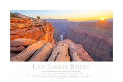 Let Light Shine print