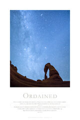 Ordained print