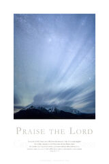 Praise the Lord print