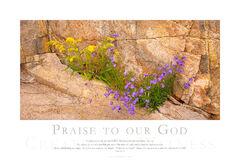 Praise to Our God print