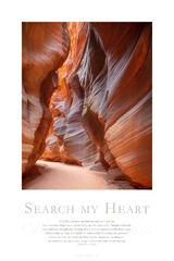 Search my Heart print