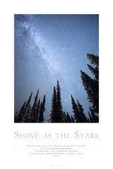 Shine as the Stars print