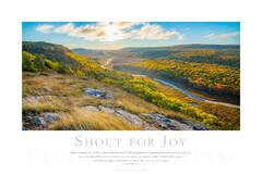 Shout for Joy print