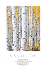 Sing for Joy print