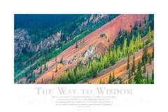 The Way to Wisdom print