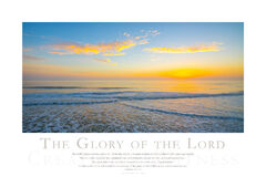The Glory of the Lord print