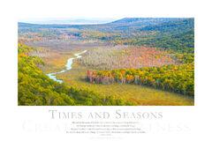 Times and Seasons print