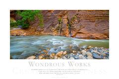 Wondrous Works print