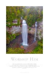 Worship Him print