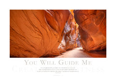 You Will Guide Me print