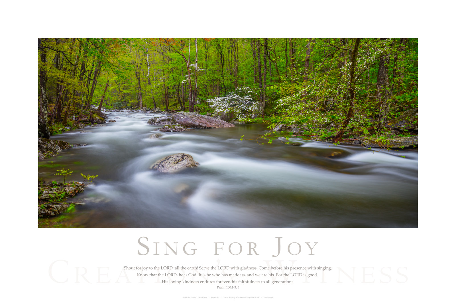 Shout for joy to the LORD, all the earth! Serve the LORD with gladness. Come before his presence with singing. Know that the...